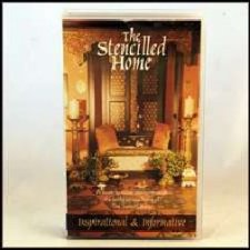 The Stencilled Home - VHS Video